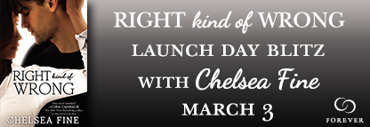 Blog Tour Interview & Giveaway:  Right Kind of Wrong – Chelesa Fine