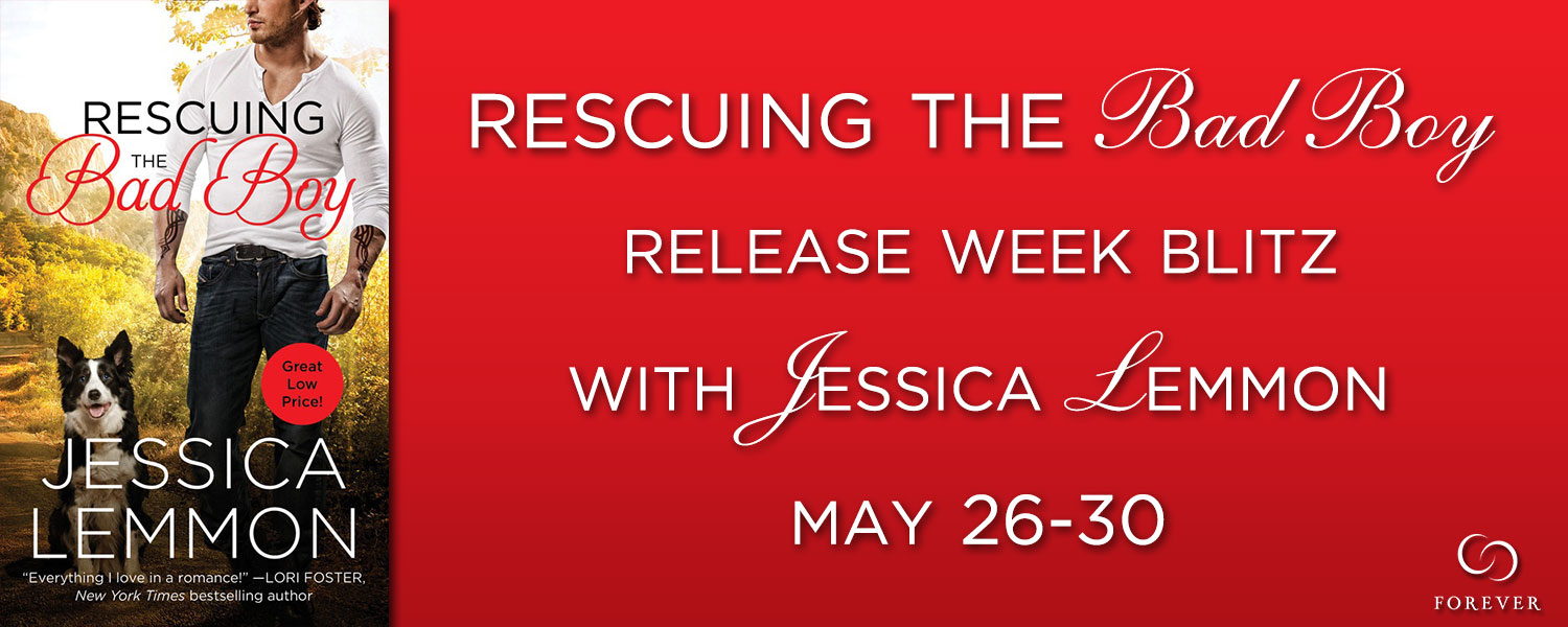 Release Week Blitz & Giveaway:  Rescuing the Bad Boy – Jessica Lemmon