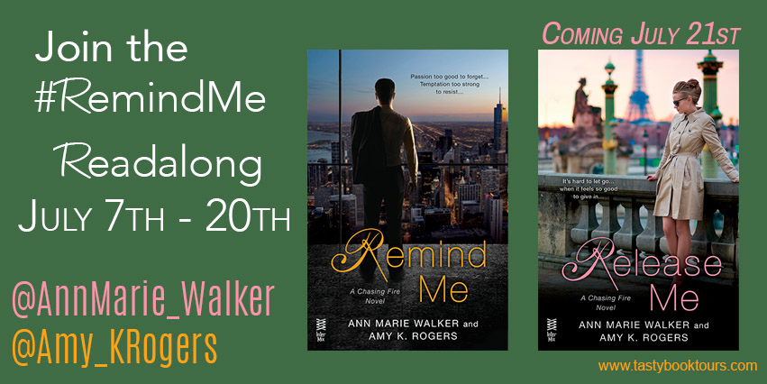 Teaser Tuesday:  Release Me – Ann Marie Walker and Amy K. Rogers