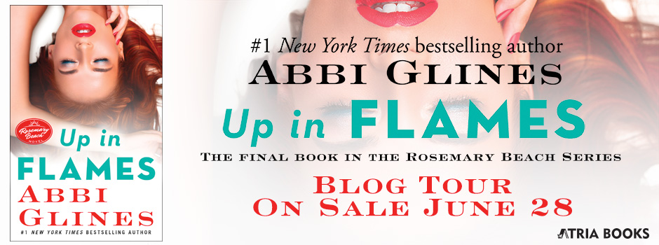 Blog Tour Review & Giveaway:  Up in Flames by Abbi Glines