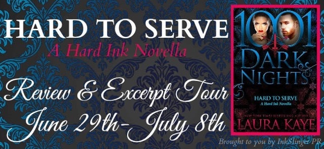 Blog Tour Review & Giveaway:  Hard to Serve by Laura Kaye