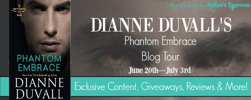 Blog Tour Guest Post & Giveaway:  Phantom Embrace – Dianne Duvall