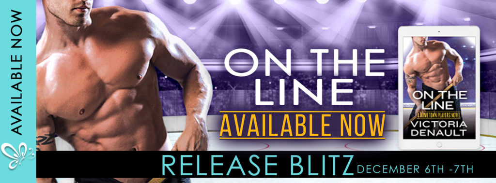 Blog Tour Review: On The Line by Victoria Denault