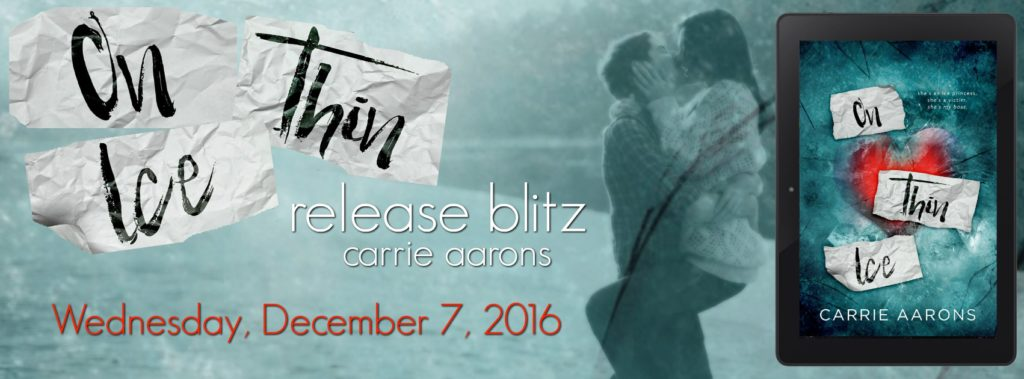 Release Blitz:  On Thin Ice – Carrie Aarons