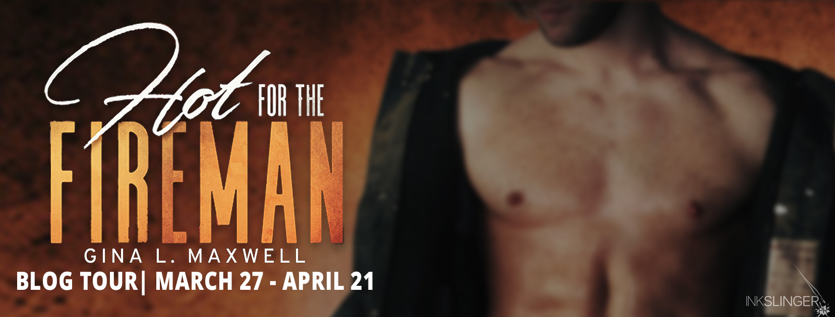 Blog Tour Review:  Hot for the Fireman by Gina L. Maxwell