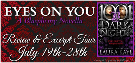 Blog Tour Review:  Eyes On You by Laura Kaye