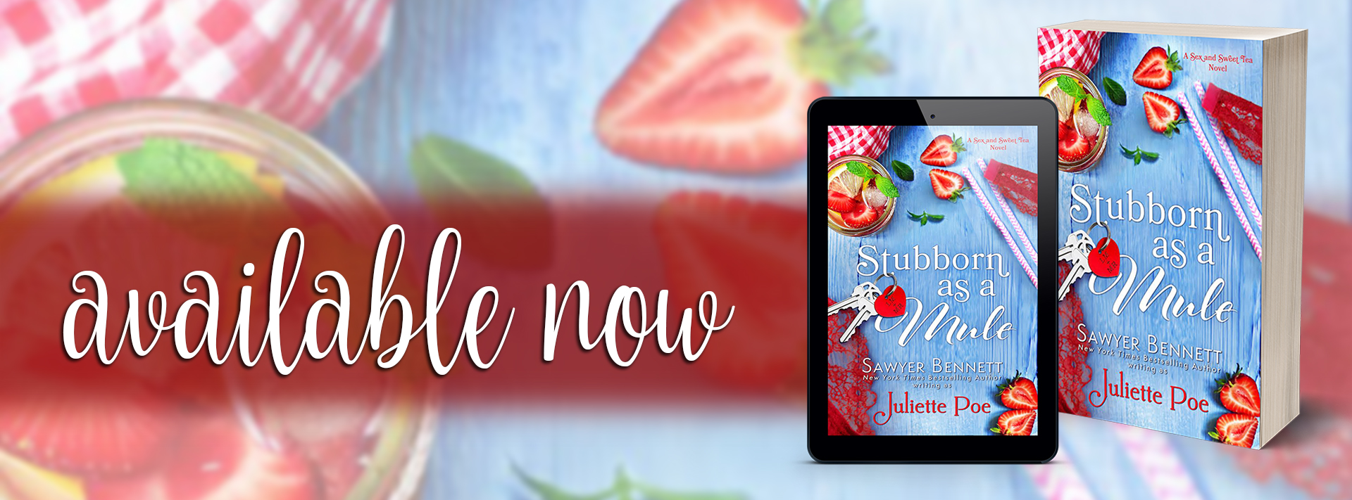 Blog Tour Review:  Stubborn as a Mule by Juliette Poe